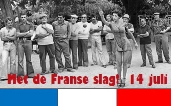petanque franse vlag